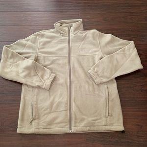 Columbia fleece full zip men's jacket medium